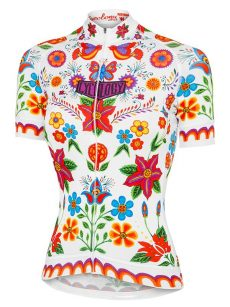 Cyklodres dámsky biely Frida
