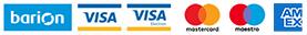 Prijímame online platby kartou cez bezpečnú bránu Barion