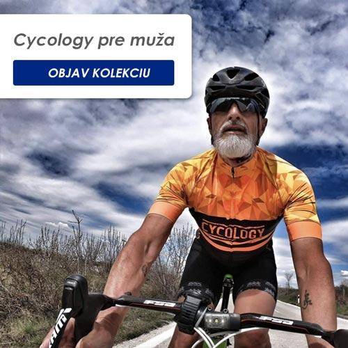 Cycology pánska kolekcia cyklo oblečenia a doplnkov