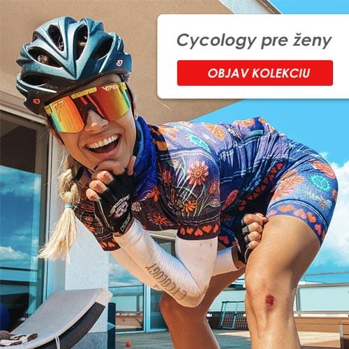Cycology dámska kolekcia cyklo oblečenia a doplnkov