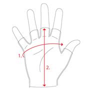 rozmery rukavic od Cycology