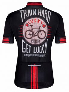 Cyklodres pánsky Train Hard Get Lucky od Cycology