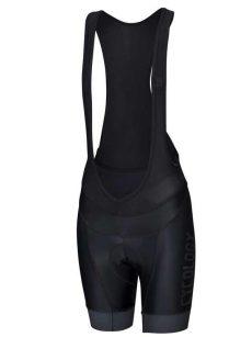 Kraťasy dámske biby s trakmi a logom Cycology (black)